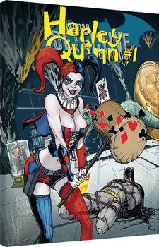 Harley Quinn - Hammer Obraz na płótnie