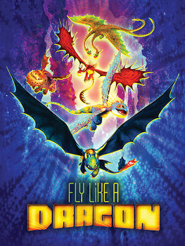 Jak wytresować smoka 3 - Fly Like A Dragon Obraz na płótnie