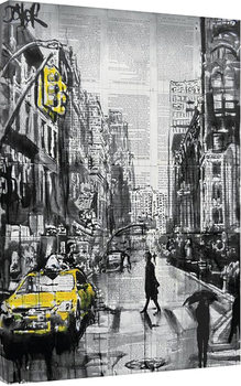 Loui Jover - Brooklyn Cab Obraz na płótnie