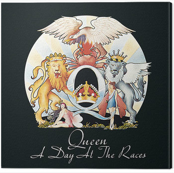 Queen - A Day at the Races Obraz na płótnie