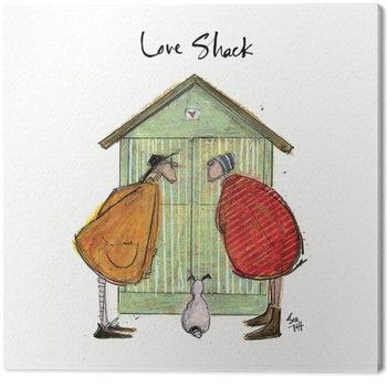 Sam Toft - Love Shack Obraz na płótnie