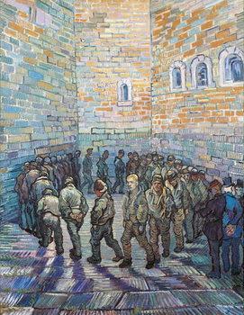 The Exercise Yard, or The Convict Prison, 1890 Obraz na płótnie