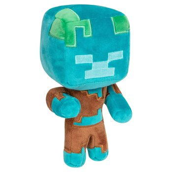 Plyschfigur Minecraft - Happy Explorer Drowned