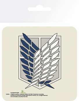 Attack On Titan (Shingeki no kyojin) - Badge Podloga pod kozarec