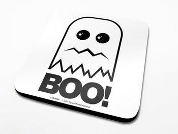 Boo!  Podloga pod kozarec