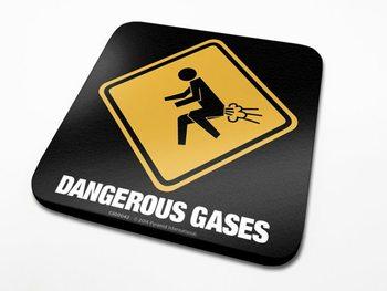 Dangerous Gases  Podloga pod kozarec