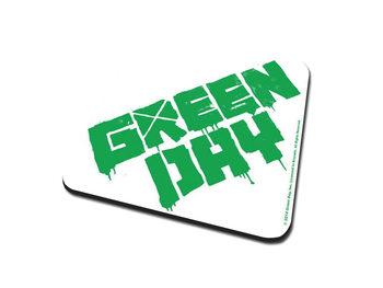 Green Day – Logo Podloga pod kozarec