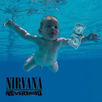 Nirvana -  Nevermind Individual Cork Podloga pod kozarec