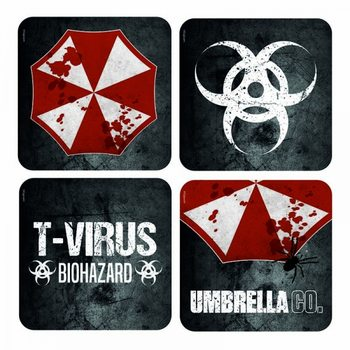 Resident Evil - Lenticular Podloga pod kozarec