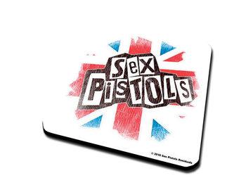 Sex Pistols – Logo & Flag Podloga pod kozarec
