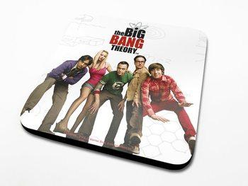 The Big Bang Theory - Cast Podloga pod kozarec
