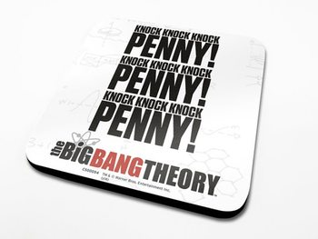 The Big Bang Theory - Knock  Podloga pod kozarec