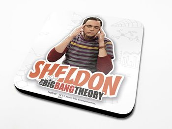 The Big Bang Theory - Sheldon Podloga pod kozarec