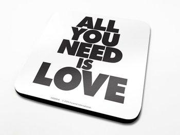 Podtácek All You Need Is Love
