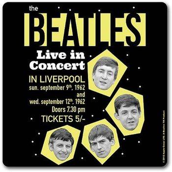 Podtácek  The Beatles - Live In Concert