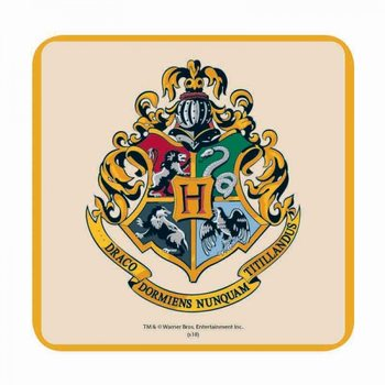 Harry Potter - Hogwarts Crest Podtácok