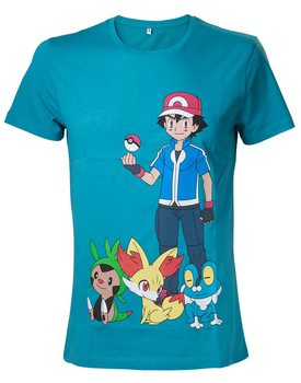T-Shirt  Pokemon - Ash Ketchum