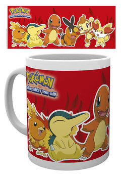 Taza Pokémon - Fire Partners