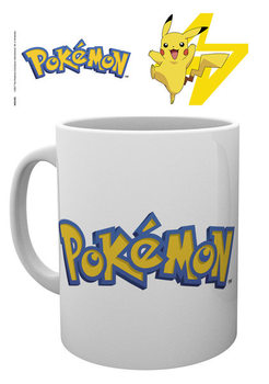 Taza Pokemon - Logo And Pikachu