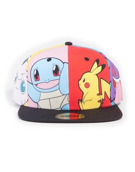 Gorra Pokémon - Multi Pop Art