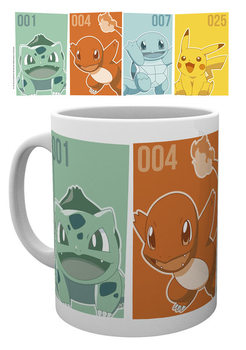 Becher Pokemon - Starters