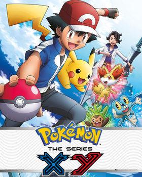 Pokemon - X & Y - плакат (poster)
