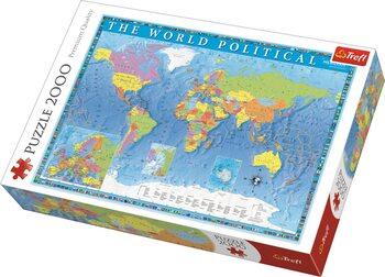 Puzzle Politická mapa světa