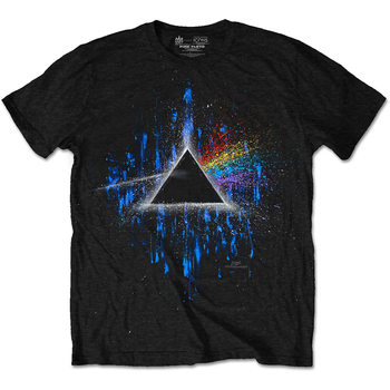 Pink Floyd - DARK SIDE OF THE MOON BLUE SPLATTER Póló
