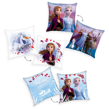 Polštářek Frozen 2 - Anna & Elsa