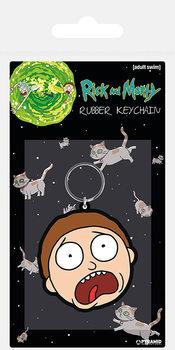 Portachiavi Rick and Morty - Morty Terrified Face