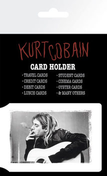 Portcard KURT COBAIN - smoking