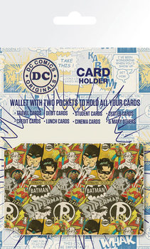 Porte-Cartes DC Comics - Retro Cast