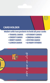 Porte-Cartes FC Barcelona - Messi Shirt