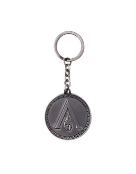 Assassin's Creed Odyssey - Metal Logo Porte-clés