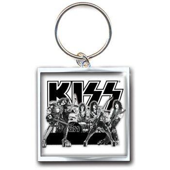 Porte-clé Kiss - Graphite Band