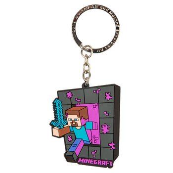 Porte-clé Minecraft - Craftable Portal Steve