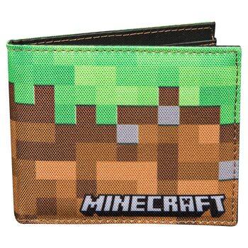 Minecraft - Dirt Block Portofel