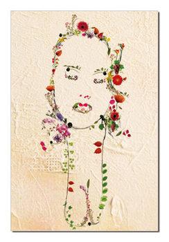 Portrait Modern tavla