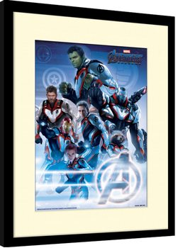 Inramad poster Avengers: Endgame - Quantum Realm Suits