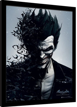 Inramad poster Batman: Arkham Origins - Joker