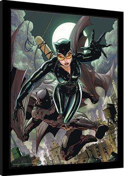 Batman - Cat & Bat Inramad poster