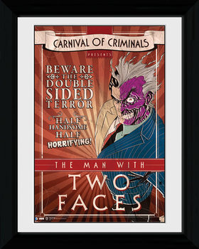 Batman Comic - Circus Two Face Poster & Affisch