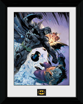 Batman Comic - Fist Fight Poster & Affisch