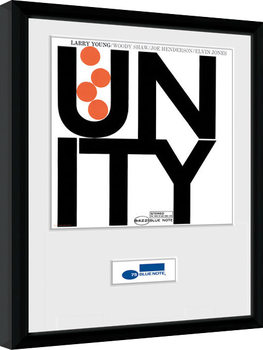 Blue Note - Unity Inramad poster