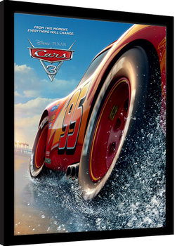 Cars 3 - Beach Inramad poster