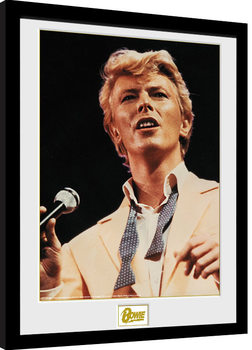 Inramad poster David Bowie - Bow Tie