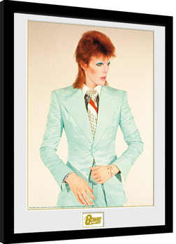 David Bowie - Life On Mars Inramad poster