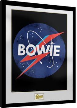 David Bowie - NASA Inramad poster