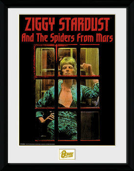 Inramad poster David Bowie - Ziggy Stardust