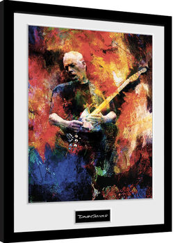 Inramad poster David Gilmour - Painting